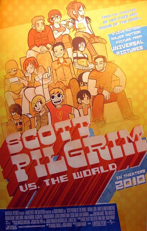 La Locandina Di Scott Pilgrim Vs The World 119261