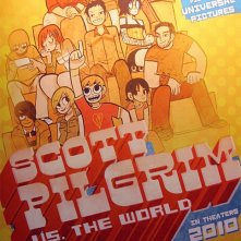 La locandina di Scott Pilgrim vs. the World