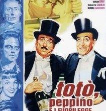 La locandina di Totò, Peppino e i fuorilegge