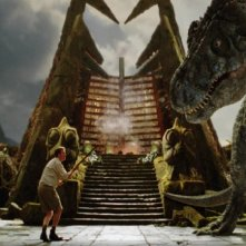 Will Ferrell in una scena del film Land of the Lost