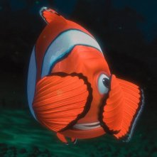 Il pesciolino Marlin in una scena di 'Alla ricerca di Nemo'