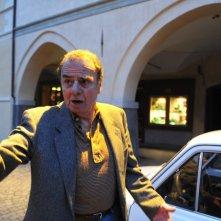 Massimo Sarchielli nei panni di Pietro Pacciani, il contadino di Mercatale che fu accusato di essere il Mostro di Firenze, nel film realizzato da Fox Channles Italy in onda su FoxCrime