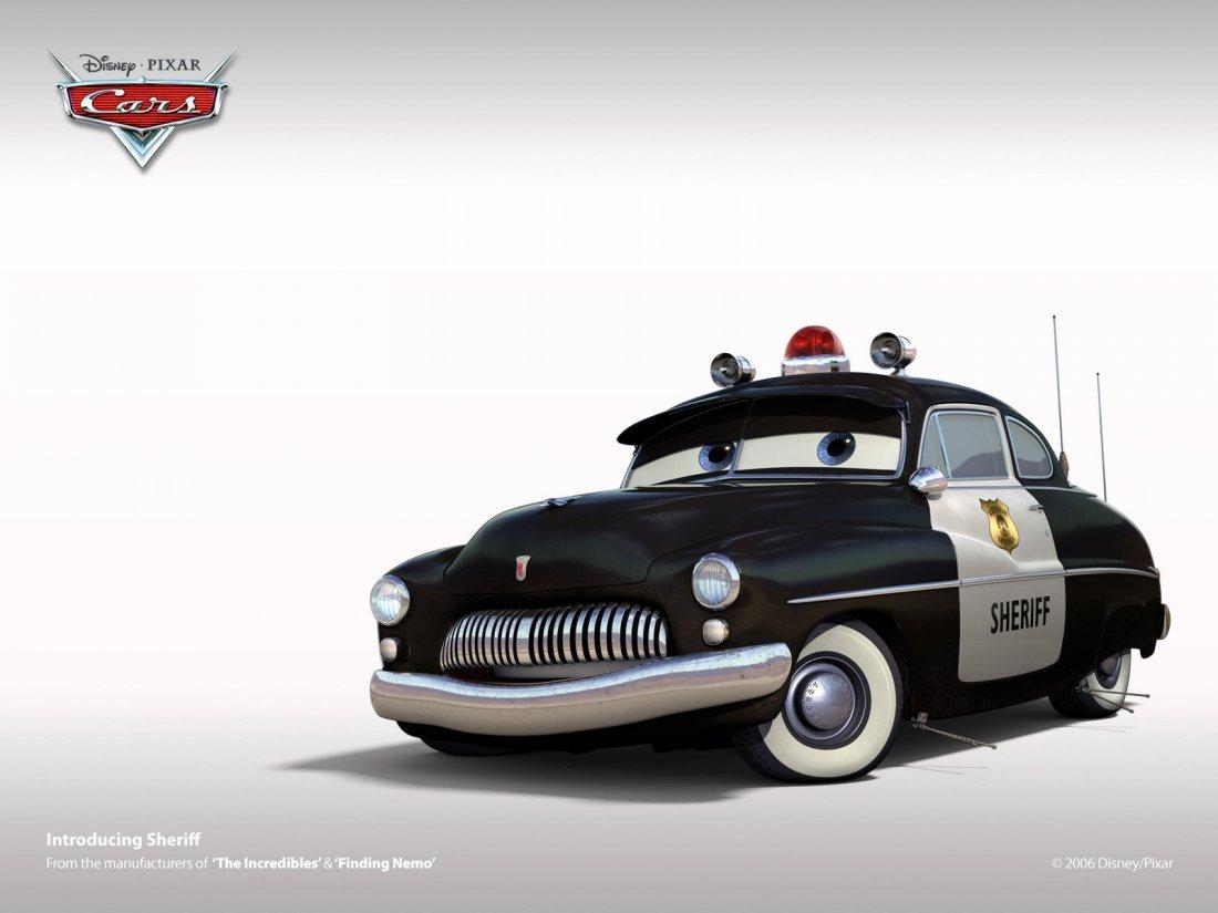 Un Wallpaper Dello Sceriffo Del Film Cars Motori Ruggenti 119545