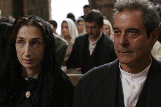 Giselda Volodi (Lucia) ed Ennio Fantastichini (Salvatore) nel film Viola di mare (foto di Francesca Martino)