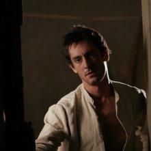 Marco Foschi è Tommaso nel film Viola di mare (foto di Francesca Martino)