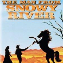 La locandina di L'uomo del fiume nevoso