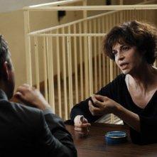 Anna Galiena in una sequenza del film La donna di nessuno