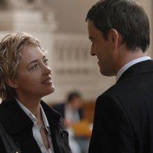 Hélène de Fougerolles e Laurent Lucas in una scena del film La donna di nessuno