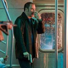 John Travolta in un'immagine del film The Taking of Pelham One Two Three