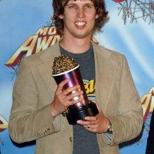 Jon Heder vincitore dei premi come 'Migliore Rivelazione Maschile' e 'Migliore Performance Musicale' agli MTV Movie Awards 2005