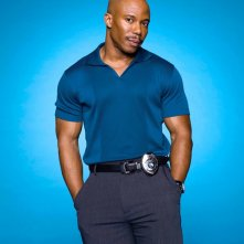 Erik King interpreta il Sergente Doakes per la seconda stagione di Dexter