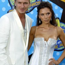 Victoria e David Beckham agli MTV Movie Awards 2003