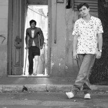 Vincent Gallo e Alden Ehrenreich in un'immagine del film Tetro, diretto da Francis Ford Coppola
