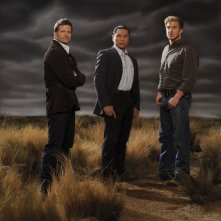 Bailey Chase, Gregory Cruz e Kenneth Johnson nella terza stagione di Saving Grace