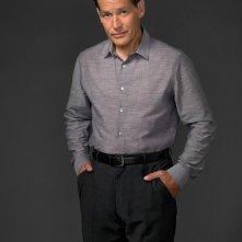 James Remar, nel ruolo di Harry Morgan, posa per la campagna di promozione della terza stagione di Dexter