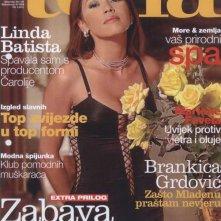 Linda Batista sulla cover di Tena