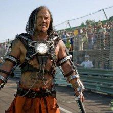 Prima immagine di Mickey Rourke, villain in iron Man 2