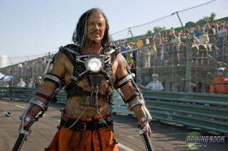Prima immagine di Mickey Rourke, villain in iron Man 2