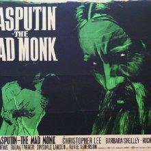 Lobby card promozionale del film Rasputin, il monaco folle