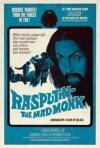 Locandina inglese del film Rasputin, il monaco folle