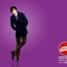 Un wallpaper del film I Love Radio Rock con Tom Sturridge
