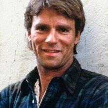Una foto promo di Richard Dean Anderson per la serie MacGyver