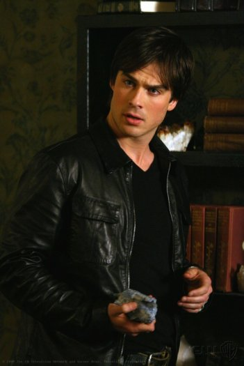 Ian Somerhalder in una scena di The Vampire Diaries