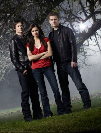 Una foto promozionale della serie The Vampire Diaries