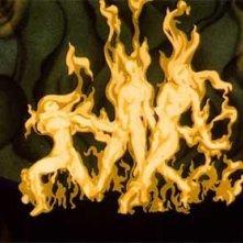 Le danza delle donne che bruciano in Una notte sul Monte Calvo nel film Fantasia
