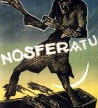 Locandina tedesca del film Nosferatu di Murnau