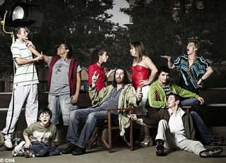 Un'immagine promozioanle della serie tv britannica Shameless
