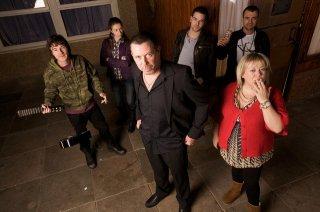 Una foto promozionale del cast di Shameless