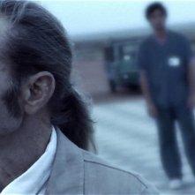 Carlo Rivolta da Vanzaghello in un'immagine del film Tre lire - Primo giorno