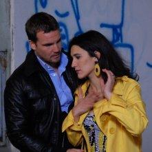 Danilo Brugia e Maria Victoria Di Pace in un'immagine del film Tutti intorno a Linda