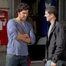 Juan Pablo Di Pace in una scena del film Tutti intorno a Linda