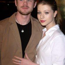 Michelle Trachtenberg e Shawn Ashmore alla premiere del film 'Constantine', nel 2005