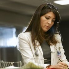 Eve Best in una scena dell'episodio Sweet-N-All di Nurse Jackie