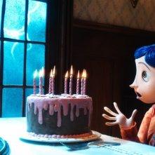 Un'immagine del film d'animazione Coraline e la porta magica