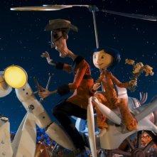 Un'immagine tratta da Coraline e la porta magica