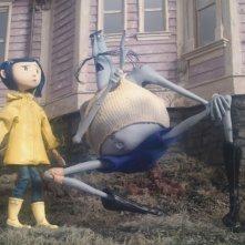Un'immagine tratta dal film d'animazione Coraline e la porta magica