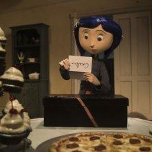 Una scena tratta dal film d'animazione Coraline e la porta magica