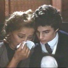 Virna Lisi con Martin Halm in una scena di Ernesto, diretto da Salvatore Samperi