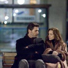 Amore su una panchina per Eric Bana e Rachel McAdams, interpreti di The Time Traveler's Wife