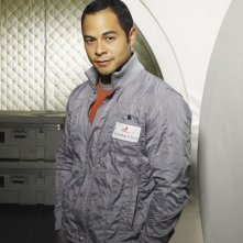 Jose Pablo Cantillo in una foto promozionale del film tv Virtuality
