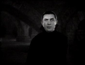 Lo sguardo magnetico di Bela Lugosi nel film Dracula