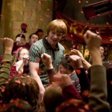 Rupert Grint in un'immagine del film Harry Potter e il principe mezzosangue