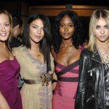 Leighton Meester, Jessica Szohr, Nicole Fiscella e Taylor Momsen al 'Gossip Girl' Season 2 Celebration