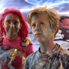 Taylor Dooley e Cayden Boyd nel film Le avventure di Sharkboy e Lavagirl in 3-D del 2005