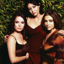 Un'immagine promozionale del trio: Holly Marie Combs, Shannen Doherty e Alyssa Milano