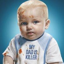Un poster promozionale della stagione 4 di Dexter